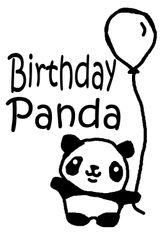 Imprimer le coloriage : Panda, numéro 104547