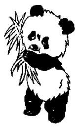 Imprimer le coloriage : Panda, numéro 104563
