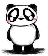 Imprimer le coloriage : Panda, numéro 104567