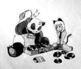 Imprimer le coloriage : Panda, numéro 104576