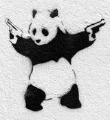 Imprimer le coloriage : Panda, numéro 104588