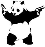 Imprimer le coloriage : Panda, numéro 106561