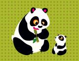Imprimer le dessin en couleurs : Panda, numéro 108796