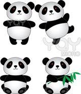Imprimer le dessin en couleurs : Panda, numéro 108805