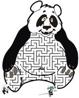 Imprimer le dessin en couleurs : Panda, numéro 108814