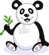 Imprimer le dessin en couleurs : Panda, numéro 108820