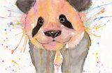 Imprimer le dessin en couleurs : Panda, numéro 108822