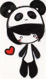 Imprimer le dessin en couleurs : Panda, numéro 108831