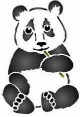 Imprimer le coloriage : Panda, numéro 148275