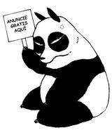 Imprimer le coloriage : Panda, numéro 313511
