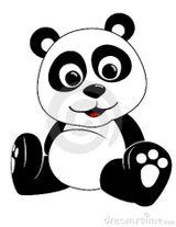 Imprimer le coloriage : Panda, numéro 398065