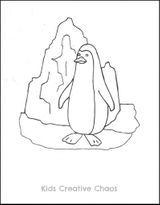 Imprimer le coloriage : Pinguoin, numéro 2bf82f3f