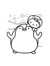 Imprimer le coloriage : Pinguoin, numéro 535011