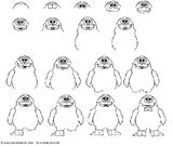 Imprimer le coloriage : Pinguoin, numéro 601584
