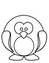 Imprimer le coloriage : Pinguoin, numéro 759828