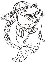 Imprimer le dessin en couleurs : Poisson, numéro 117322