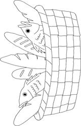 Imprimer le coloriage : Poisson, numéro 128390