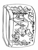 Imprimer le coloriage : Poisson, numéro 128392