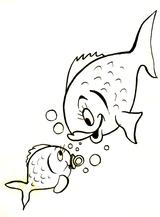Imprimer le dessin en couleurs : Poisson, numéro 136755