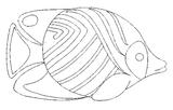 Imprimer le coloriage : Poisson, numéro 145876