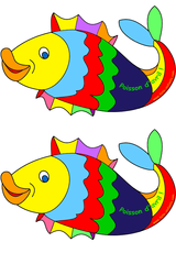 Imprimer le dessin en couleurs : Poisson, numéro 156677
