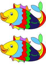 Imprimer le dessin en couleurs : Poisson, numéro 19116