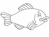 Imprimer le dessin en couleurs : Poisson, numéro 19117