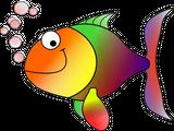 Imprimer le dessin en couleurs : Poisson, numéro 224636