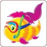 Imprimer le dessin en couleurs : Poisson, numéro 624058
