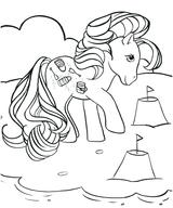 Imprimer le coloriage : Poney, numéro 128875