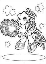 Imprimer le coloriage : Poney, numéro 146205