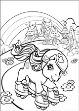 Imprimer le coloriage : Poney, numéro 163424