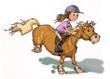 Imprimer le dessin en couleurs : Poney, numéro 165564