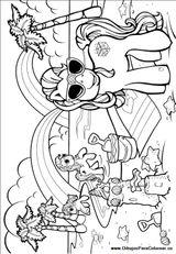 Imprimer le coloriage : Poney, numéro 167376