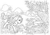 Imprimer le coloriage : Poney, numéro 17090