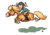 Imprimer le dessin en couleurs : Poney, numéro 19491