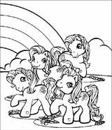 Imprimer le coloriage : Poney, numéro 7204