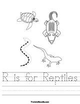 Imprimer le coloriage : Reptiles, numéro 147212