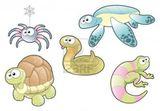 Imprimer le dessin en couleurs : Reptiles, numéro 172431