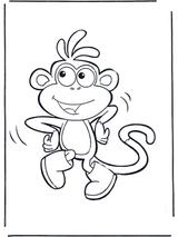 Imprimer le dessin en couleurs : Singe, numéro 108786