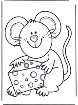 Imprimer le dessin en couleurs : Souris, numéro 165820