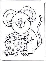 Imprimer le dessin en couleurs : Souris, numéro 180149