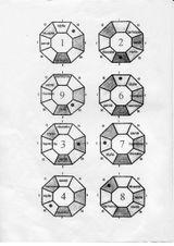 Imprimer le coloriage : Chiffres et formes, numéro 113269