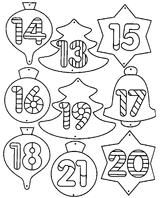 Imprimer le coloriage : Chiffres et formes, numéro 113276