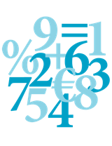 Imprimer le dessin en couleurs : Chiffres et formes, numéro 20273