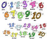 Imprimer le dessin en couleurs : Chiffres et formes, numéro 26396