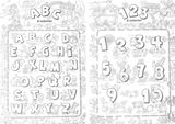Imprimer le coloriage : Chiffres et formes, numéro 26798