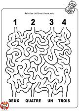 Imprimer le coloriage : Chiffres et formes, numéro 270735