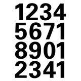 Imprimer le coloriage : Chiffres et formes, numéro 296067