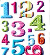 Imprimer le dessin en couleurs : Chiffres et formes, numéro 417244